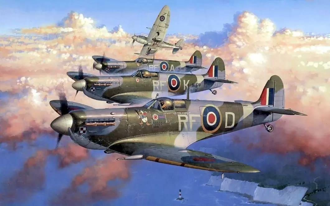 Spitfire Mk I-V, Segerrik i slaget om England
